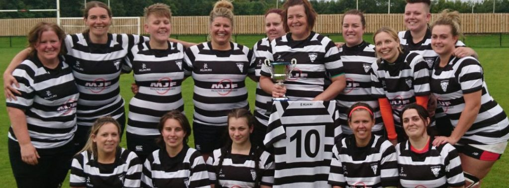 County Cup Winnners 17/18 Womens 1st beating Hartlepool in the first round and Sunderland in the final