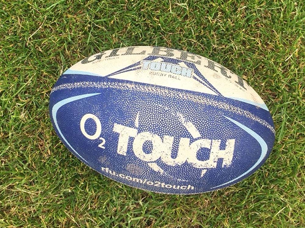 England Rugby Tamara Taylor coaches a ladies only Touch Rugby session at Blackwell Meadows
